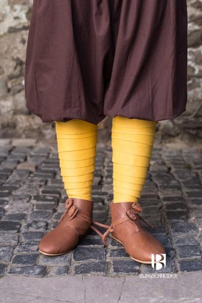 Wollwadenwickel Aki, Gelb Mittelalterliches vom Burgschneider