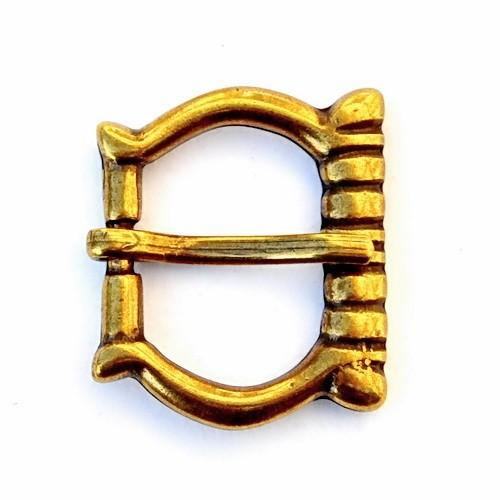 Spätmittelalter Schnalle 2 cm -Zubehör für mittelalterliche Gürtel für Reenactment und LARP
