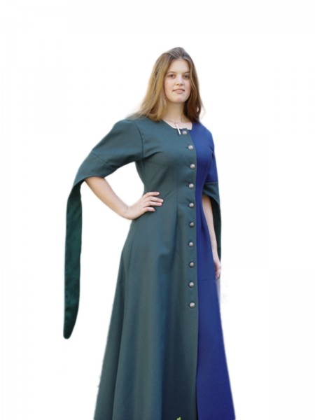 Mittelalterkleid Kathi 100 % Baumwolle Maßanfertigung