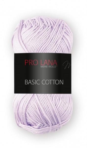 Basic Cotton Farbe: 43 flieder von Pro Lana 100 % Baumwolle