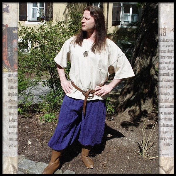 Rushose - 100 % Leinen - Mittelalter und LARP Gewand Maßanfertigung