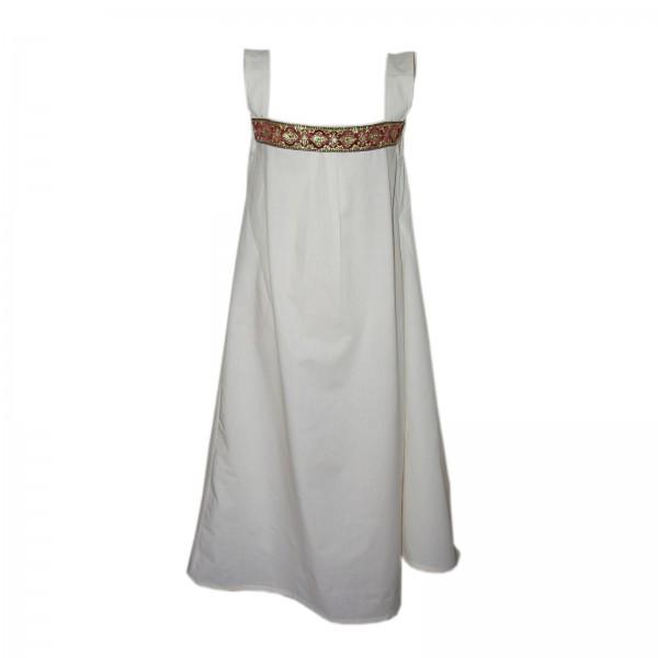 Damen Hemdelin mit Trägern, kurz - 100 % Baumwolle - Mittelalter und LARP Gewand Maßanfertigung
