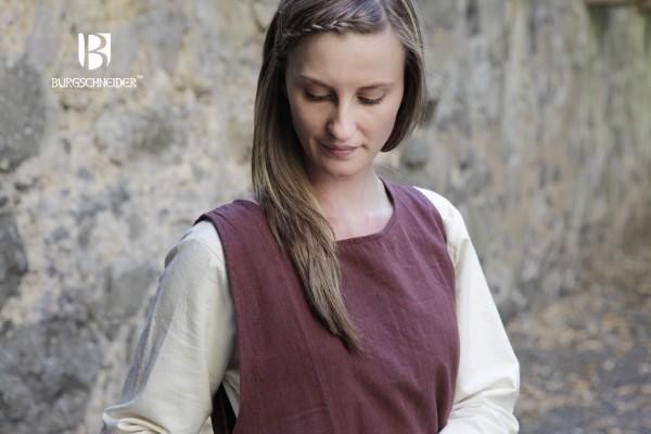 Überkleid Haithabu, Braun Mittelalterliches vom Burgschneider