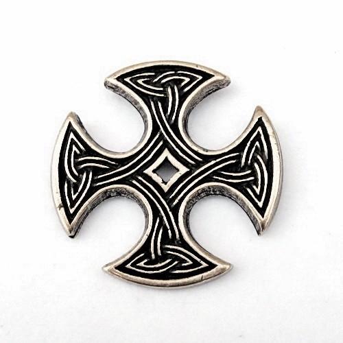 Anhänger Kreuz von Nevern - Anhänger Schmuck Mittelalter Larp