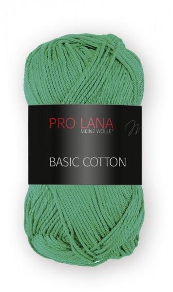 Basic Cotton Farbe: 70 grasgrün von Pro Lana 100 % Baumwolle