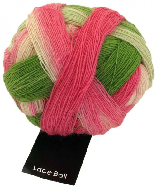 Zauberball Lace Ball ''Durch die Blume'' 75% Schurwolle (superwash), 25 % Polyamid