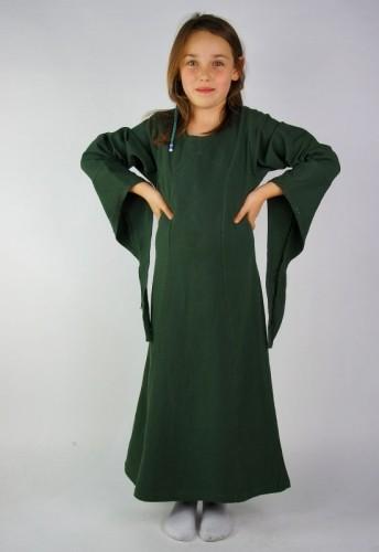 Mädchen Kleid mit weiten Ärmeln - Kostüm Gewand für Mittelalter, Larp & Reenactment Kinder