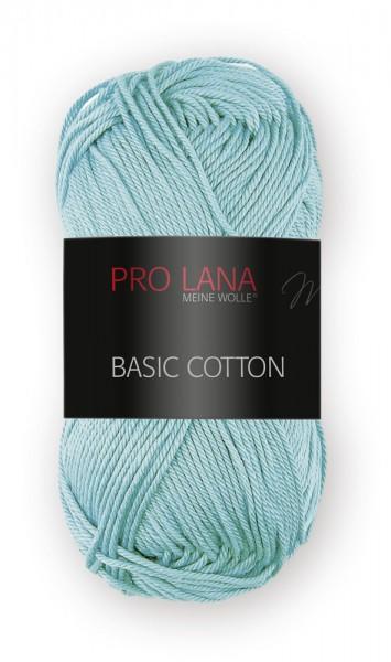 Basic Cotton Farbe: 65 mintgrün von Pro Lana 100 % Baumwolle