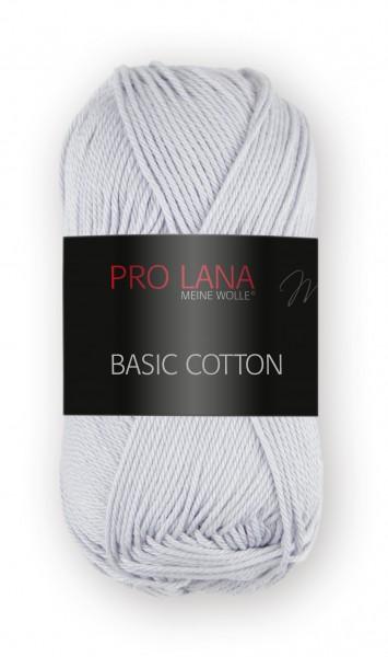 Basic Cotton Farbe: 91 hellgrau von Pro Lana 100 % Baumwolle