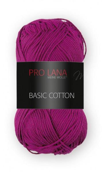 Basic Cotton Farbe: 46 beere von Pro Lana 100 % Baumwolle