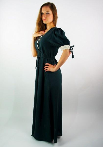 Mittelalterkleid 'Kirsten' mit kurzen Ärmeln und Schnürung