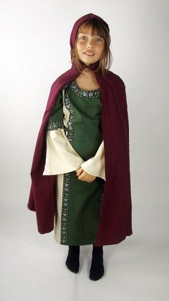 Umhang Mantel für Kinder aus Baumwolle - Gewand für Larp, Mittelalter und Fantasy Kostüme