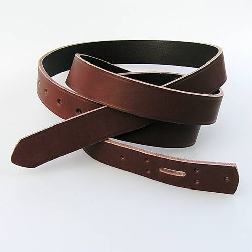 Langer Gürtelrohling aus Kernleder 1,5 cm breit - 160 cm Länge für Mittelaltergürtel - 2 Farben
