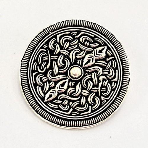 Brosche Sutton Hoo Replik nach einem Zaumzeug Bronze - Accessoire für Historische Gewandungen, Reena
