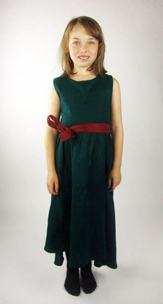 Ärmelloses Kleid für Kinder - Kostüm Gewand für Mittelalter, Larp & Reenactment Kinder