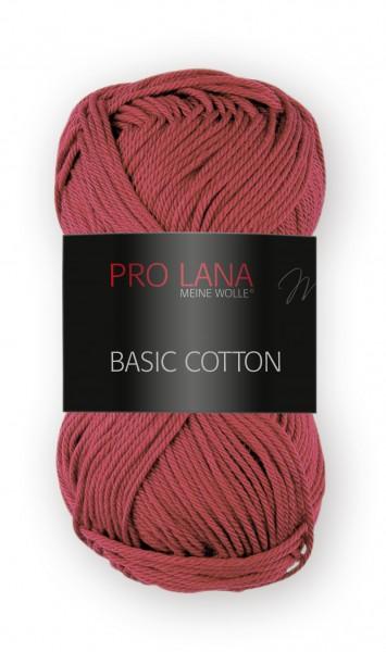 Basic Cotton Farbe: 31 rot von Pro Lana 100 % Baumwolle