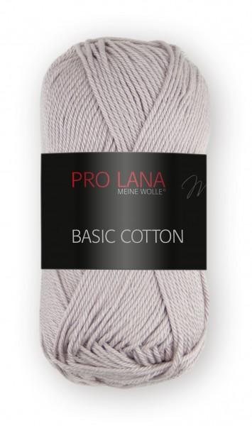 Basic Cotton Farbe: 12 taupe von Pro Lana 100 % Baumwolle