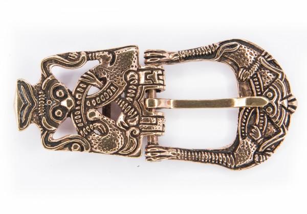 Viking Gürtelschnalle' aus Bronze - Mittelalter, Larp, Fantasy Schmuck