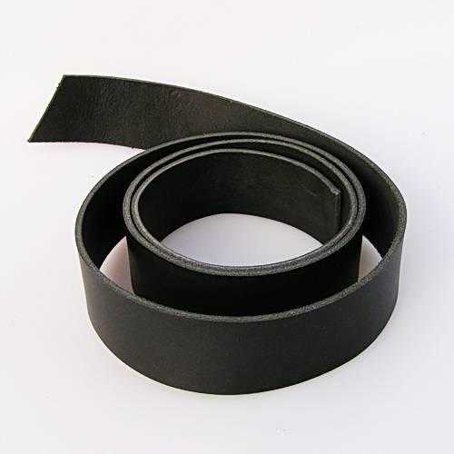 Lederstreifen aus Kernleder mit 5 cm Breite, ca. 1,15 bis 1,25 m lang für Gürtel Selbermachen
