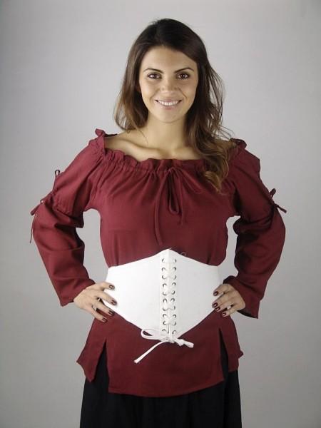 Corsagengürtel aus stabiler Baumwolle - Mittelalter Bekleidung, Larp & Reenactment