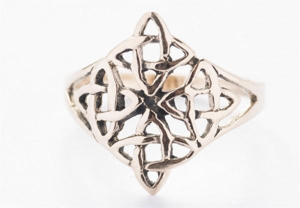 Taina Bronze Ring im keltischen Stil - Schmuck Accessoire für Historische Gewandungen, Reenactment u