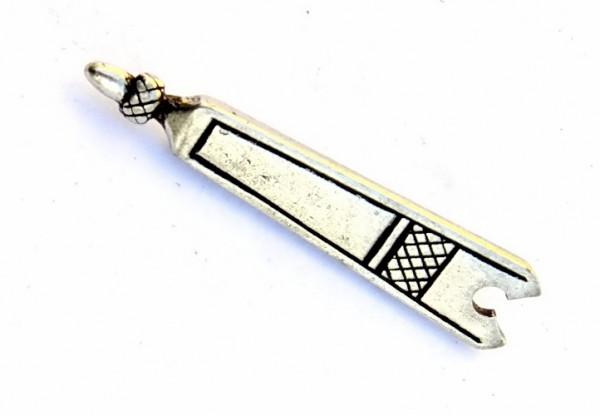 Spätmittelalter Riemenende 1.5 cm -Zubehör für mittelalterliche Gürtel für Reenactment und LARP
