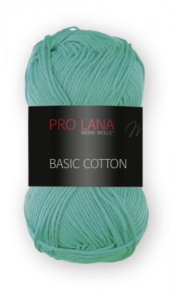 Basic Cotton Farbe: 67 jadegrün von Pro Lana 100 % Baumwolle