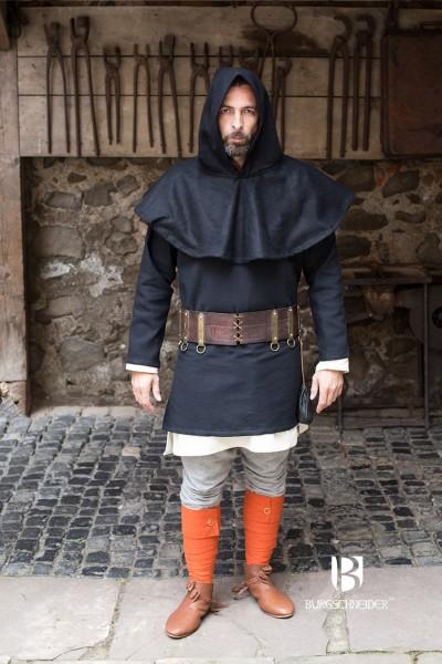 Gugel Cuculus, Schwarz Mittelalterliches vom Burgschneider