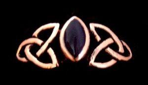 Celtic Ring Fili, Bronze - Schmuck Accessoire für Historische Gewandungen, Reenactment und Liverolle