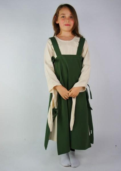 Mädchen Überkleid - Kostüm Gewand für Mittelalter, Larp & Reenactment Kinder