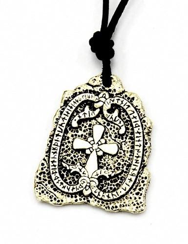 Runensteinr-Amulett von Jarlabanki Bronze - Accessoire, Schmuck für Mittelalter, LARP und Alltag
