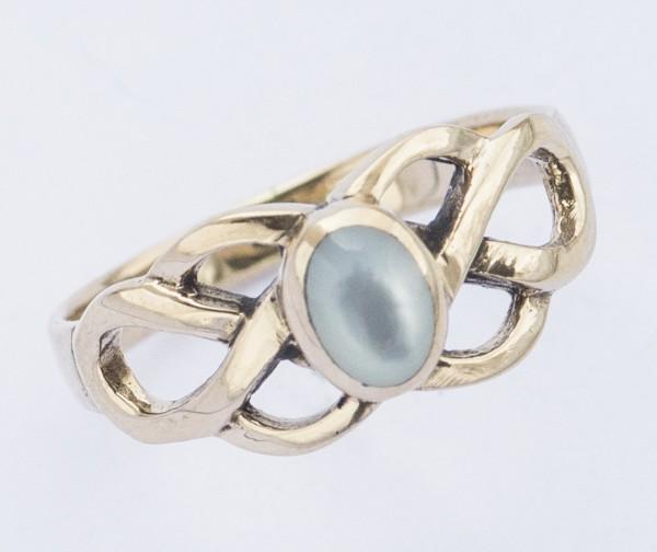 Celtic Ring Brigant, Bronze - Schmuck Accessoire für Historische Gewandungen, Reenactment und Livero