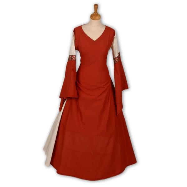 Mittelalterkleid Arnika 100 % Baumwolle Maßanfertigung
