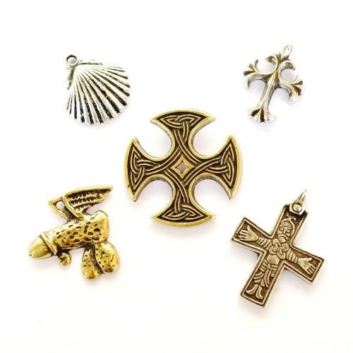 Amulett Set A Mittelalter Anhänger - Anhänger Schmuck Mittelalter Larp