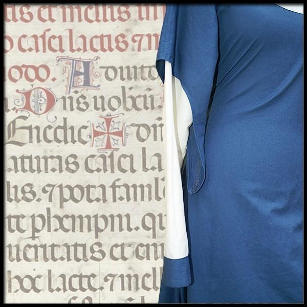 Kunigunde Mittelalterkleid 100 % Leinen Maßanfertigung