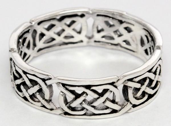 Artaios Silber 925 Ring im keltischen Stil - Schmuck Accessoire für Historische Gewandungen, Reenact