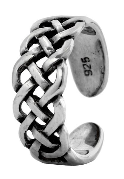 Zehenring Celtic Nuada Silber 925 - Schmuck Accessoire für Historische Gewandungen, Reenactment und