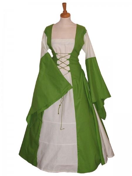 Mittelalterkleid Bella Donna, 100 % Leinen Maßanfertigung