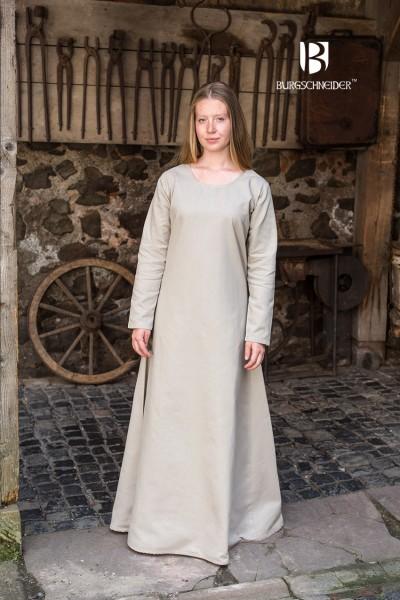 Unterkleid Freya, Hanf Mittelalterliches vom Burgschneider