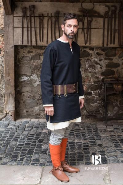 Kurztunika Erik, Schwarz Mittelalterliches vom Burgschneider