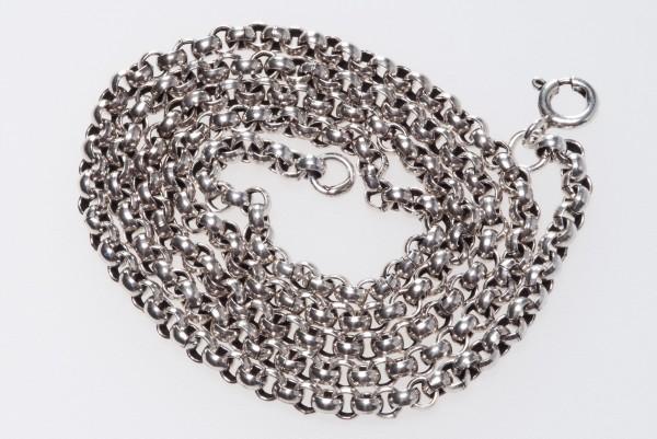 Erbskette 47 cm, Silber - Accessoire Schmuck für Mittelalter, Larp, Reenactment und Fantasy