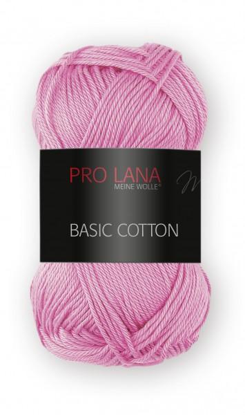 Basic Cotton Farbe: 35 rosa von Pro Lana 100 % Baumwolle