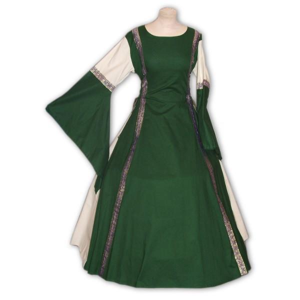Mittelalterkleid Emily 100 % Baumwolle Gewand auf Maß