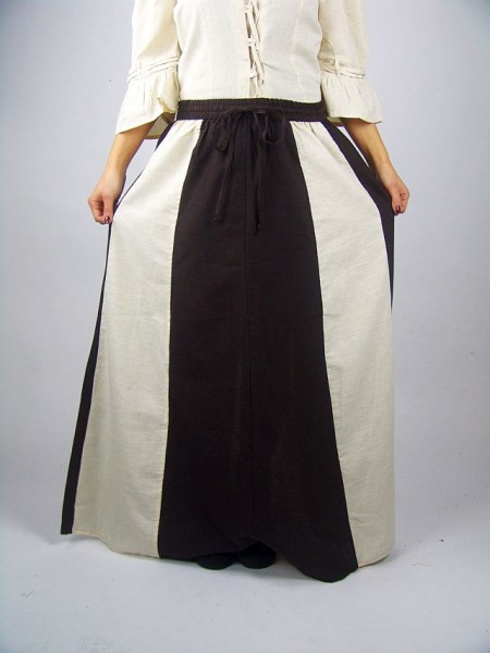 Mittelalterrock aus Baumwolle & Leinen Mittelalterliches Gewand Historisches Kostüm