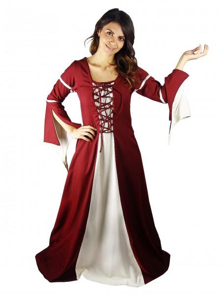 Mittelalterkleid 'Grethlin' mit geteilten Ärmeln