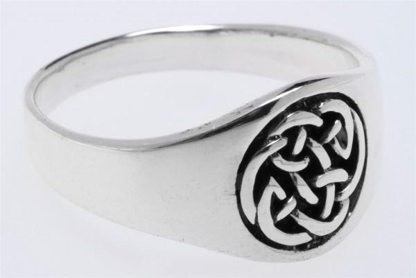 Nuada Silber 925 Ring im keltischen Stil - Schmuck Accessoire für Historische Gewandungen, Reenactme