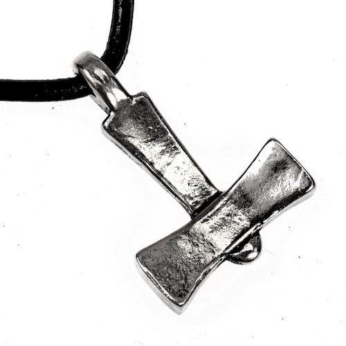 Wikinger Thorshammer von Läby Amulett Bronze - Replik Nachbildung nach Originalfund
