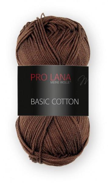 Basic Cotton Farbe: 10 braun von Pro Lana 100 % Baumwolle