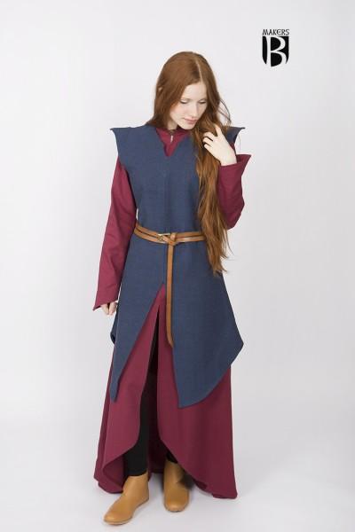 Tunika Eryn in Blau - Miss Viscid Designs von Burgschneider
