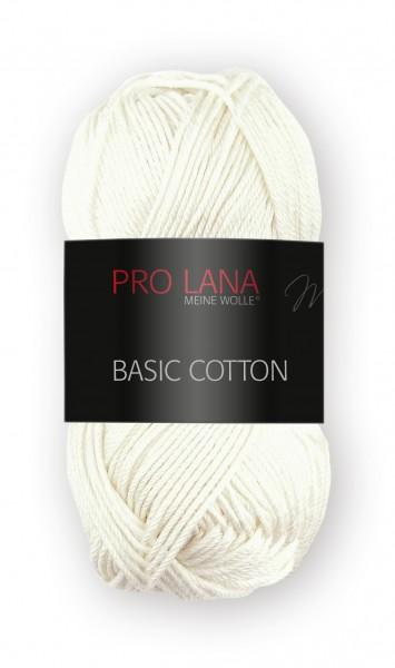 Basic Cotton Farbe: 02 Natur von Pro Lana 100 % Baumwolle